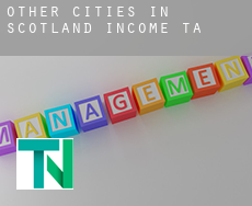 Other cities in Scotland  income tax