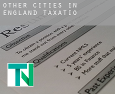 Other cities in England  taxation