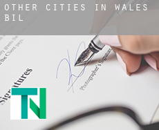 Other cities in Wales  bill